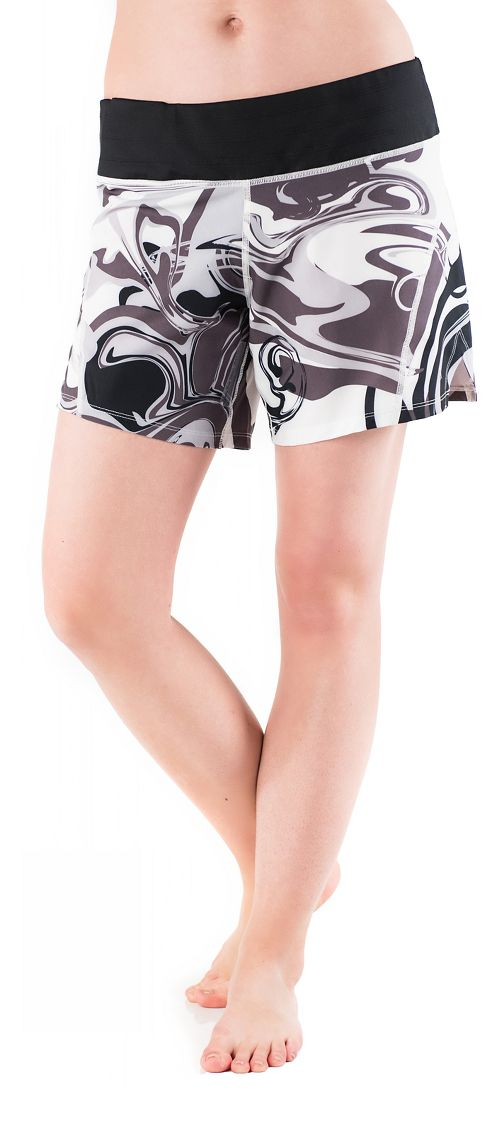 Womens Skirt Sports Go Longer Lined Shorts - Persevere Print XS
