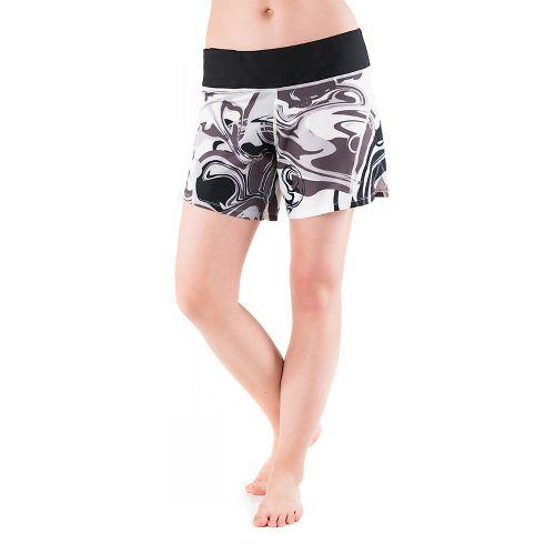 Womens Skirt Sports Go Longer Lined Shorts - Persevere Print M