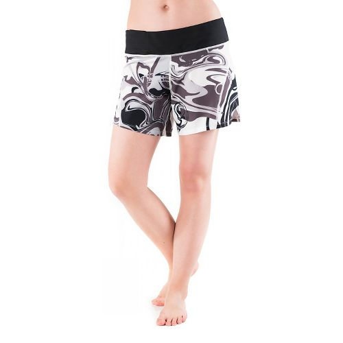 Womens Skirt Sports Go Longer Lined Shorts - Persevere Print S