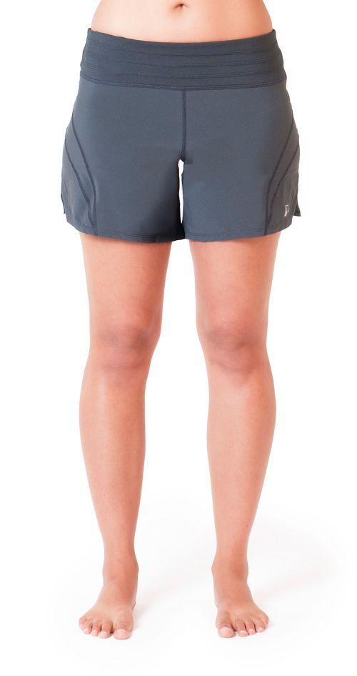 Womens Skirt Sports Go Longer Lined Shorts - Black L