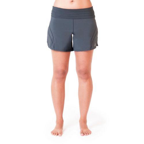 Womens Skirt Sports Go Longer Fitted Shorts - Ignite Print S
