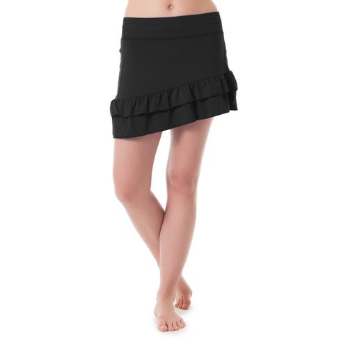 Womens Skirt Sports Vixen Skort Fitness Skirts - Black XS