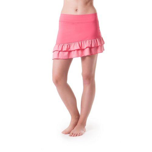 Womens Skirt Sports Vixen Skort Fitness Skirts - Flirt/Flirty Heather XXL