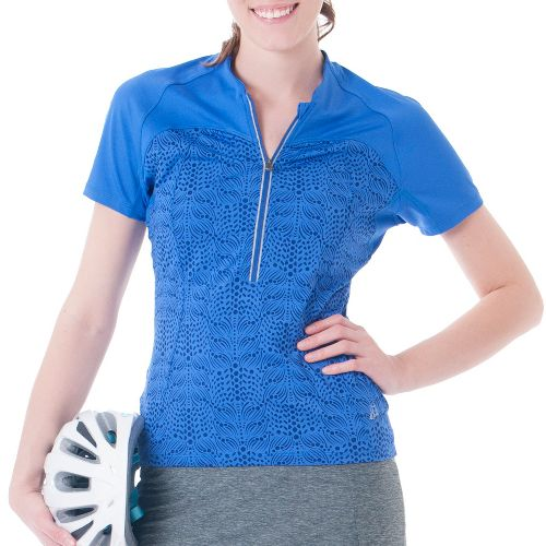 Womens Skirt Sports Trickster Jersey Short Sleeve Technical Tops - Whisper Print M