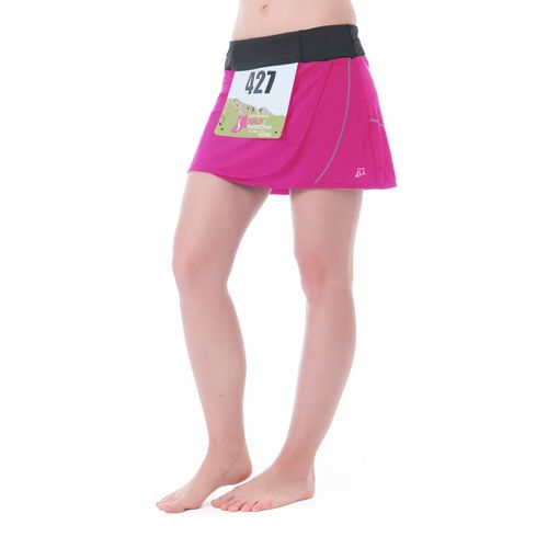 Womens Skirt Sports Transition Skort Fitness Skirts - Pink Crush XXL