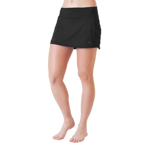 Womens Skirt Sports Running with Spankies Fitness Skirts - Black XS