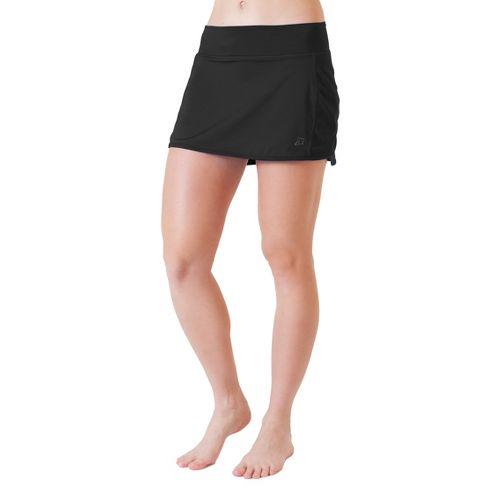 Womens Skirt Sports Running with Spankies Fitness Skirts - Black S