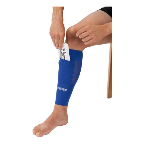 Runner's Remedy Shin Splint Compression Sleeve Injury Recovery - Blue