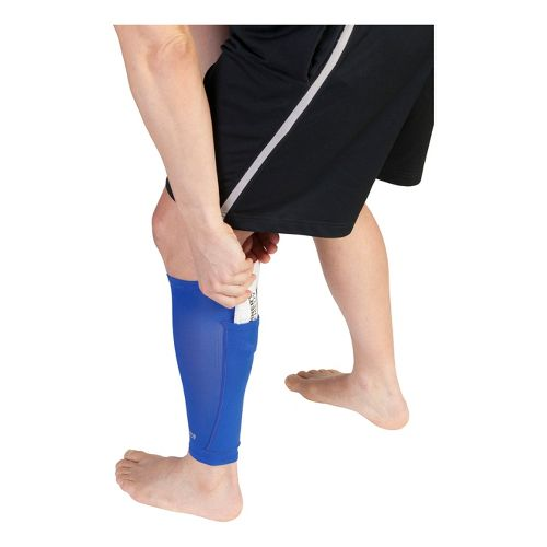 Runner's Remedy Calf Compression Sleeve Injury Recovery - Blue