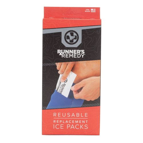 Runner's Remedy Reusable Replacement Ice Packs Injury Recovery - Blue