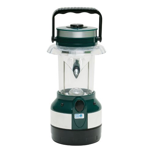 Stansport Water Resistant LED Lantern Safety - Green