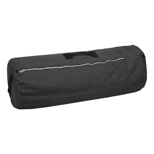 Stansport Duffel Bag w Zipper 42x25 Bags - Black