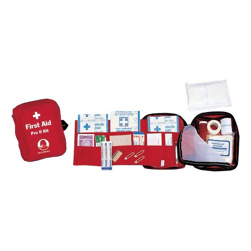 Stansport Pro II First Aid Kit Injury Recovery - Red