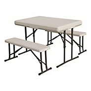 Stansport Heavy Duty Picnic Table with Bench Seats Fitness Equipment