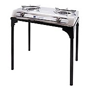 Stansport Gourmet 2 Burner Stove with Stand Fitness Equipment