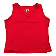 Womens Taffy Activewear Essential Racer Back Tanks Technical Tops