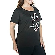 Womens Taffy Activewear Essential Short Sleeve Technical Tops