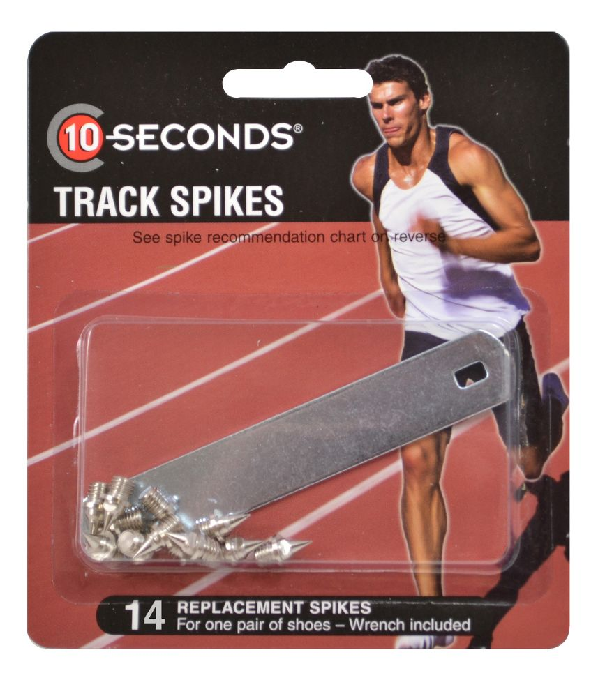 10 Seconds Track Spikes 316 Pyramid 14 pack Fitness Equipment