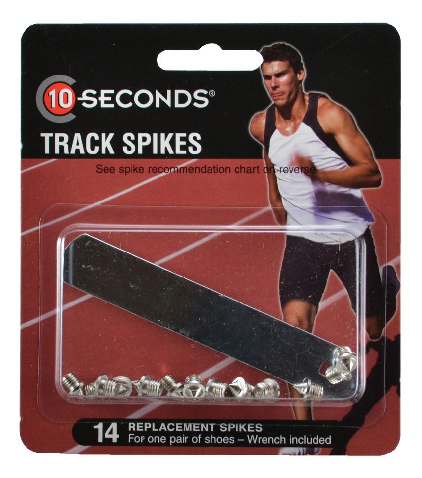 10 Seconds Track Spikes 18 Pyramid 3mm 14 pack Fitness Equipment