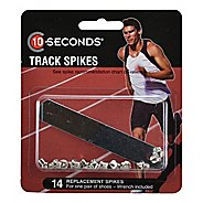 "10 Seconds Track Spikes 1/8"" Pyramid (3mm) 14 pack Fitness Equipment"