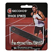 "10 Seconds Track Spikes 3/8"" Pyramid (9mm) 14 pack Fitness Equipment"