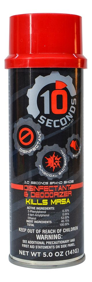 10 Seconds Shoe Disinfectant and Deodorizer Fitness Equipment