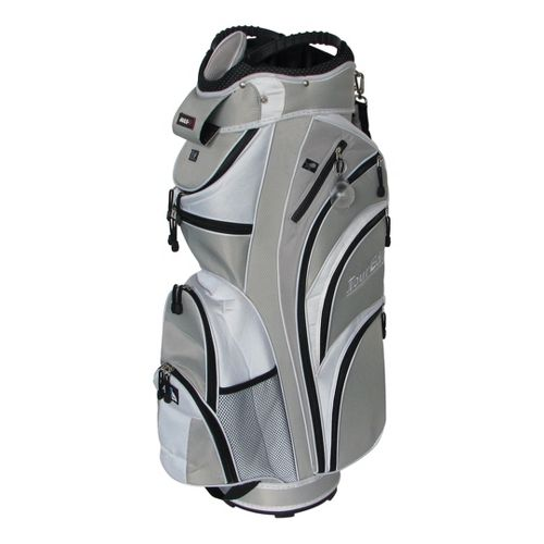 Tour Edge Max D Cart Bags - Silver/White