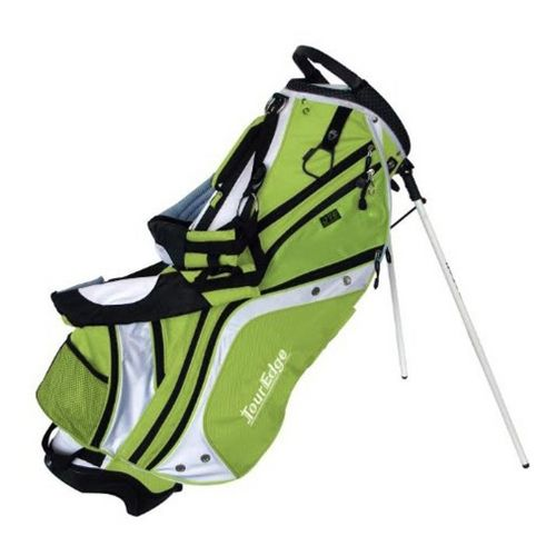 Tour Edge Max D Stand Bags - Lime Green/White