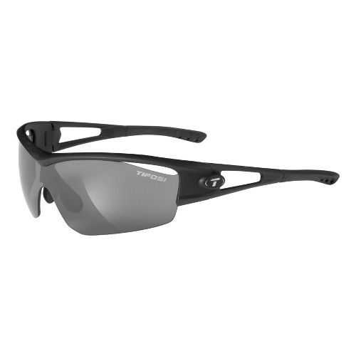 Tifosi Logic Sunglasses - Matte Black/AC Red