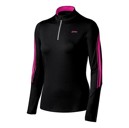 Womens ASICS Thermopolis LT Long Sleeve 1/2 Zip Technical Tops