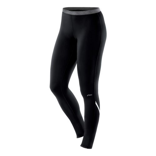 Womens ASICS Thermopolis LT Fitted Tights - Black XL