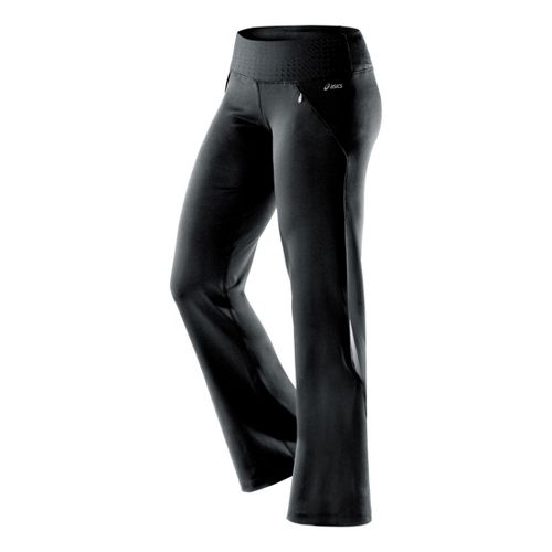 Womens ASICS Thermopolis LT Full Length Pants - Black L