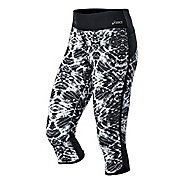 Womens ASICS Crazy Pants Capri Tights