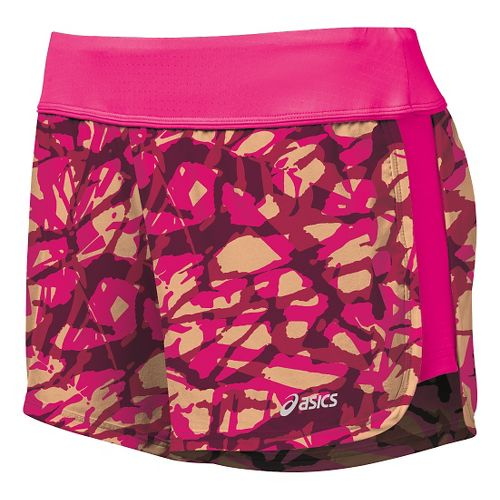 Womens ASICS Everysport Unlined Shorts - Fizzy Collage L