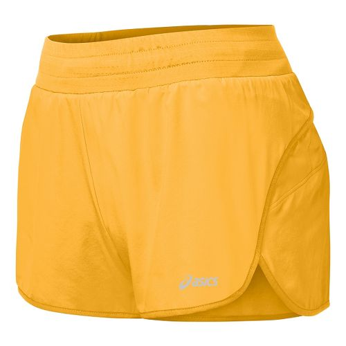 Womens ASICS Distance Lined Shorts - Fizzy Peach L