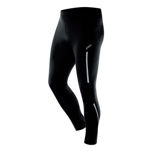Mens ASICS Thermopolis LT Fitted Tights - Black XL