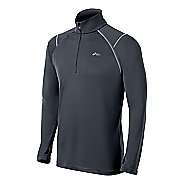Mens ASICS Lite-Show Favorite 1/2 Zip Technical Tops