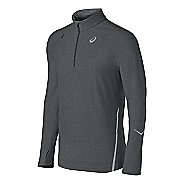 Mens ASICS Thermopolis LT Long Sleeve 1/2 Zip Technical Tops
