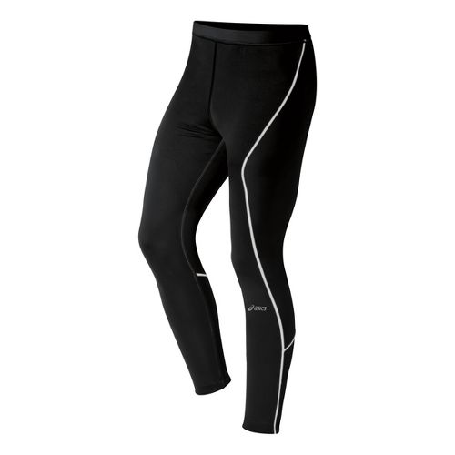 Mens ASICS Lite-Show Fitted Tights - Black XL