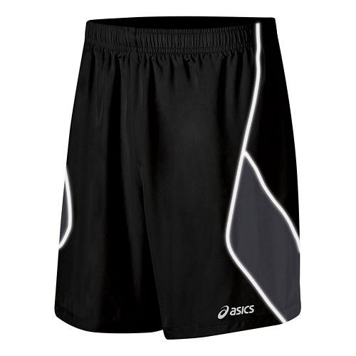 Mens ASICS Lite Show Lined Shorts - Black XL