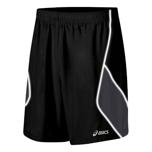 Mens ASICS Lite Show Lined Shorts - Black XXL