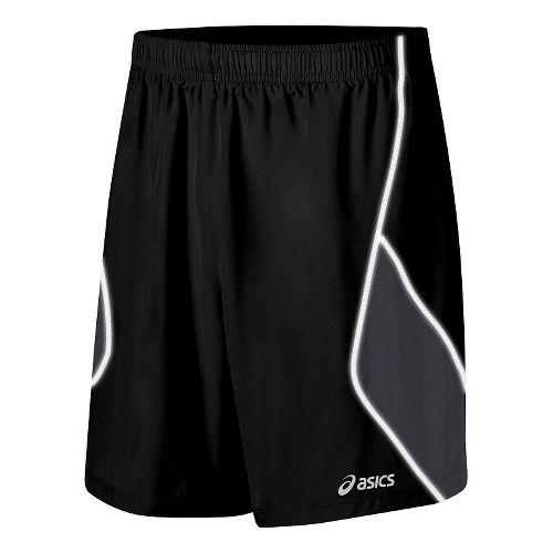 Mens ASICS Lite Show Lined Shorts - Black XXL