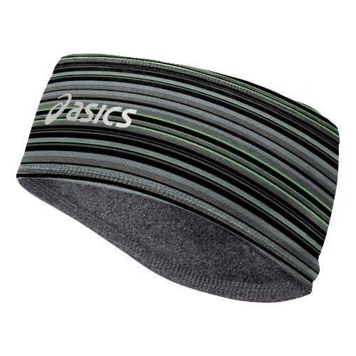 ASICS Thermopolis LT 2-N-1 Headwarmer Headwear - Heather Iron/Lite-Show