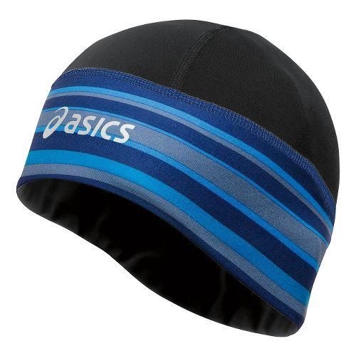 ASICS Thermopolis LT 2-N-1 Beanie Headwear - Black/Lite-Show