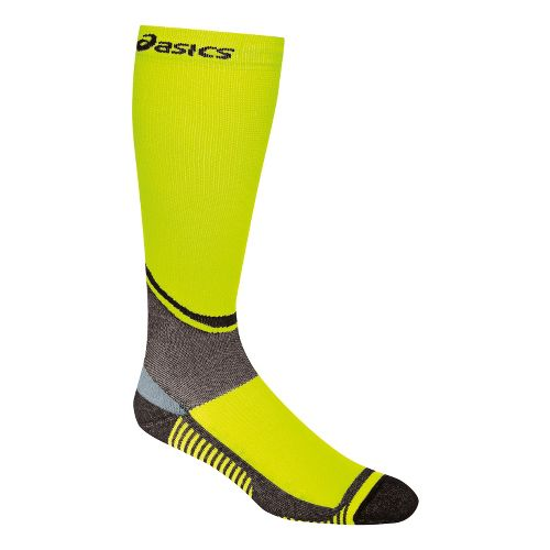 ASICS Rally Knee High Socks Injury Recovery - Neon M