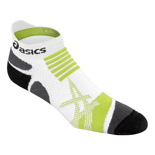 ASICS Kayano Single Tab Low Cut Socks - White M