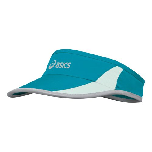 Womens ASICS Dawn to Dusk Visor Headwear - Green