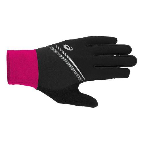 ASICS Lite-Show Gloves Handwear - Magenta S/M