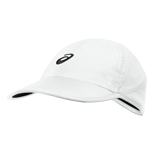 Womens ASICS Mad Dash Cap Headwear - Real White
