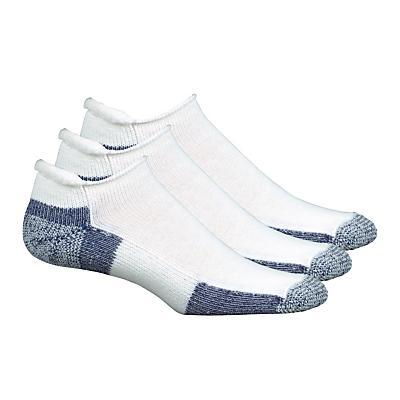 Thorlos Running No Show Roll Top 3 pack Socks